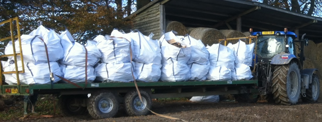 Bagged Logs - West Sussex Logs